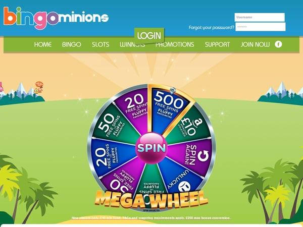 Bingo Minions Real Money Paypal