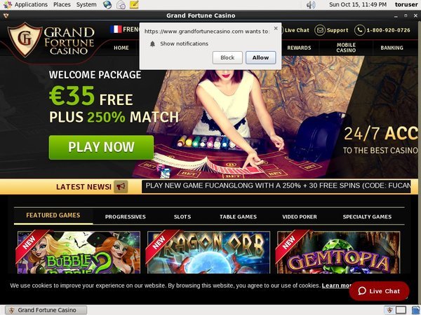 Grandfortunecasino Sports Betting