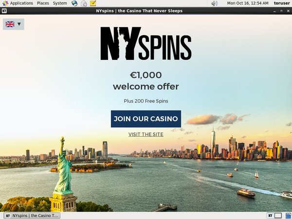 Nyspins Place Bet