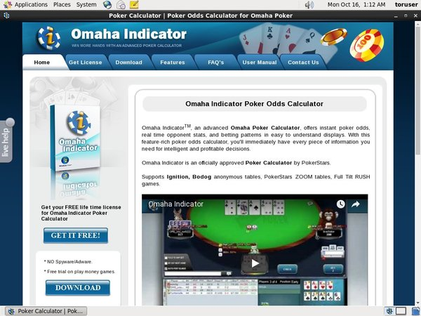 Omaha Indicator Make Bet