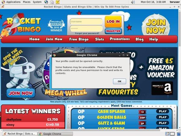 Rocket Bingo Android App