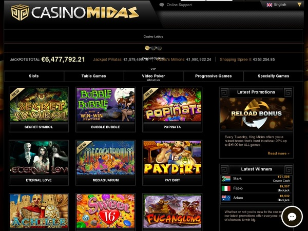 Casino Midas For Iphone