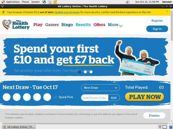 Health Lottery Unionpay