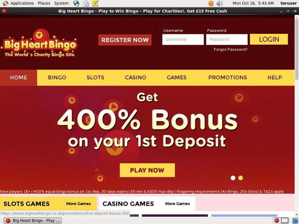 Bigheartbingo Welcome Bonus Offer