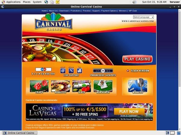 Carnival Casino Wire Transfer