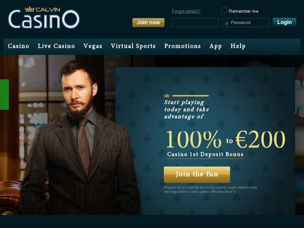Calvincasino Introductory Offer