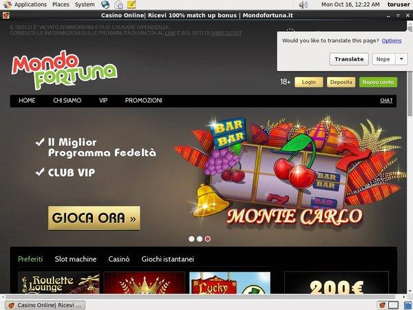Mondo Fortuna Promotion Code