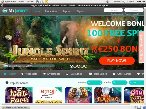 My Jackpot Casino Maximum Deposit