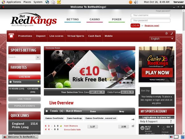 Bet Red Kings Tips