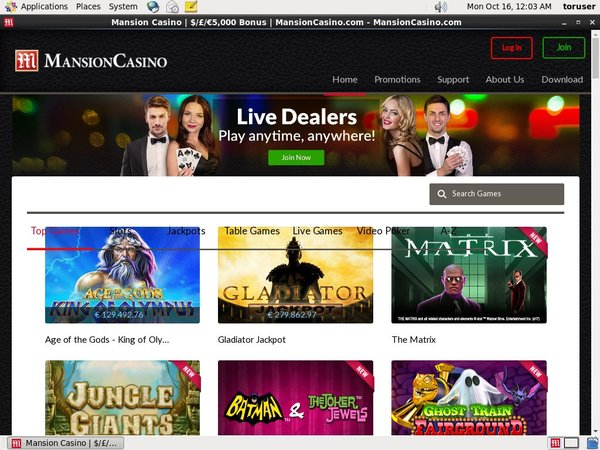 Mansion Casino Free Casino Games