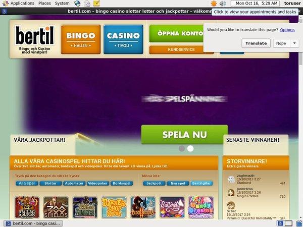 Bertil Online Casino App
