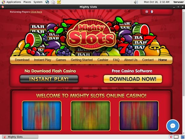 Mighty Slots New Account Promo