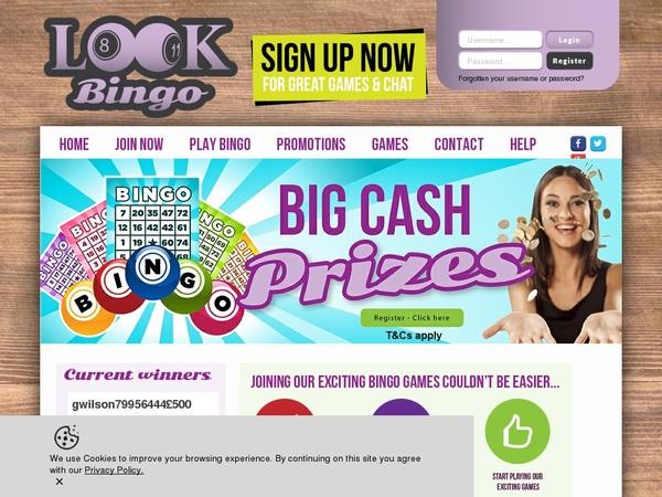 Offers Look Bingo