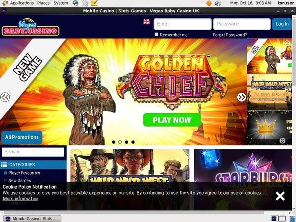 Vegasbaby Registrera Ett Konto