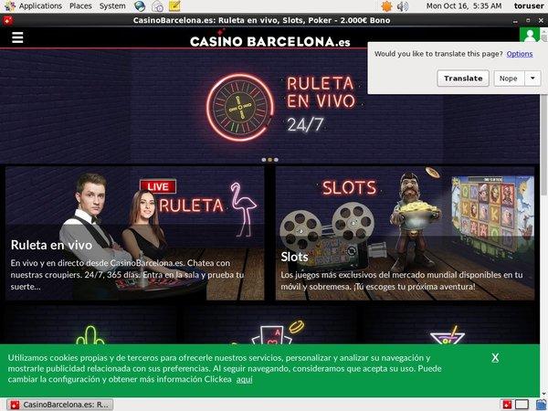 Casino Barcelona Free Bet