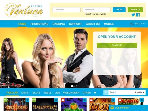 Casinoventura Welkomstbonus