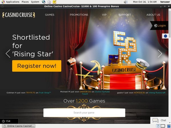 Casinocruise Best Deposit Bonus