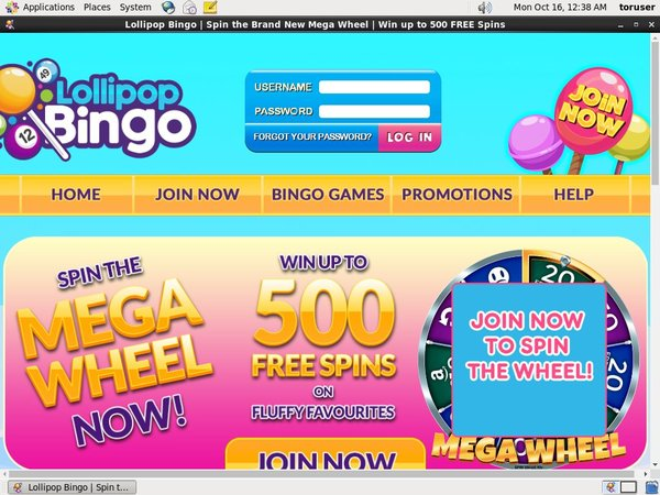Get Lollipop Bingo Bonus