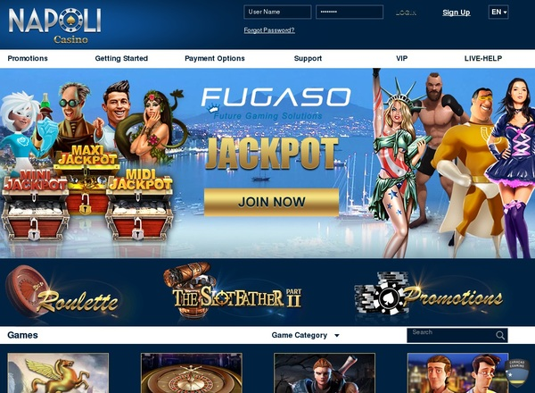 Casinonapoli Opening Offer