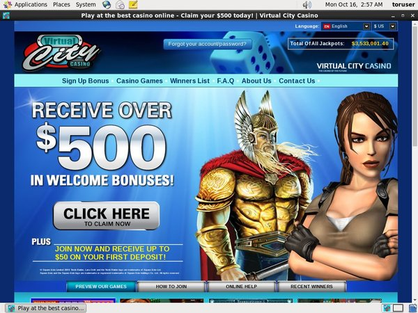 Virtual City 撲克
