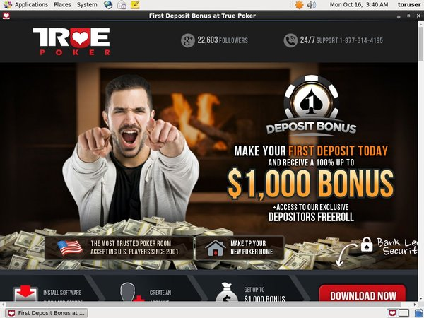 Truepoker Discount Offer