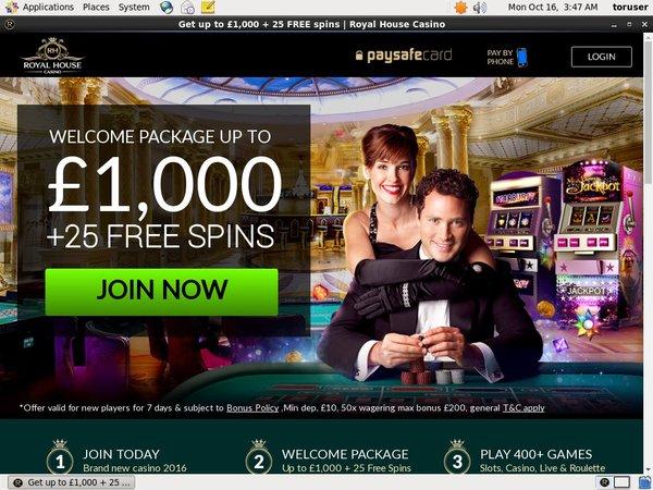 Royalhouse Best Bingo Sites