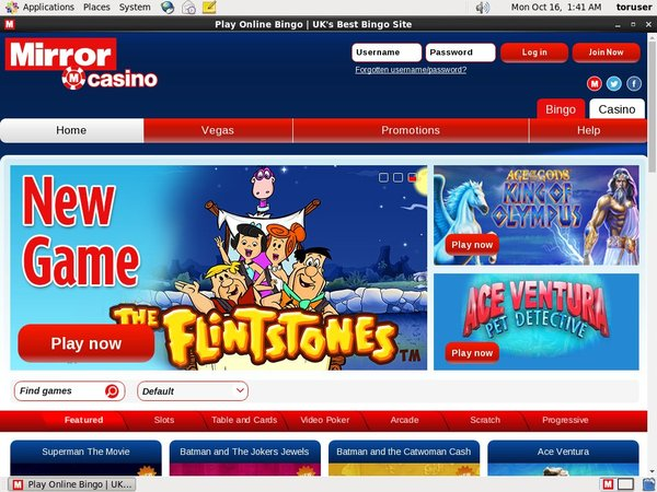 Mirror Casino Australia Dollars